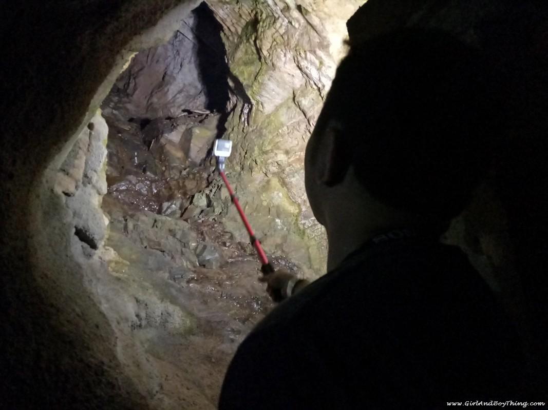 Sungai Lembing mines air hole