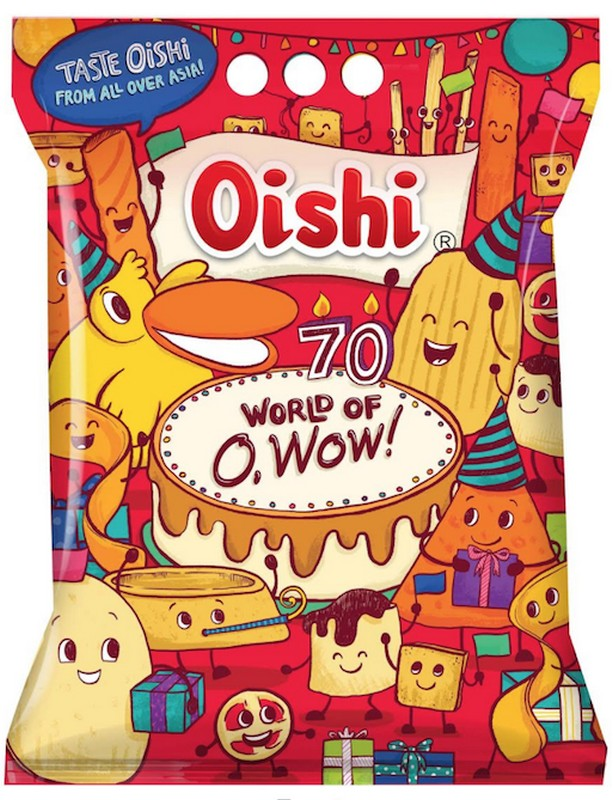 Taste the Asian flavors in Oishi World of O, Wow! Bag