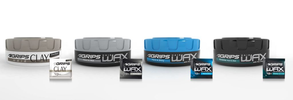 Grips Hair Wax and Grips Clay Easywash