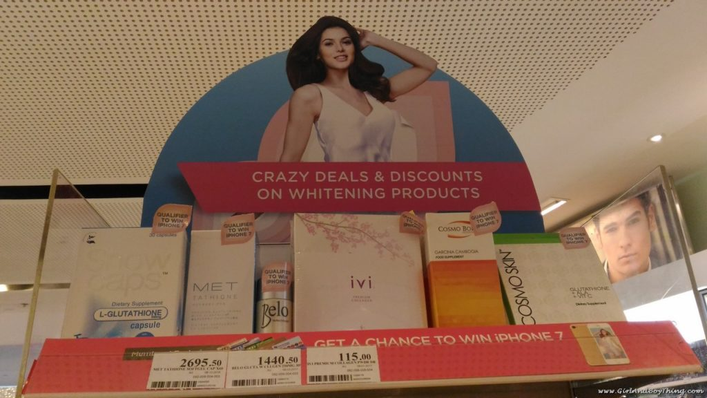 Win An iPhone 7 at Watsons' BIG WHITE BLOWOUT