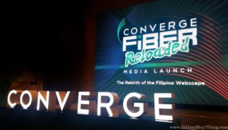 "Converge FiberX: A ""NO DATA CAP"" Internet Access In PH"