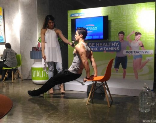 WATSONS #GetActive: Taking Small And Easy Steps To Improve Your Health!