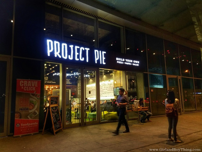 Project Pie's Build Your Own Salad, Pasta And Pizza!
