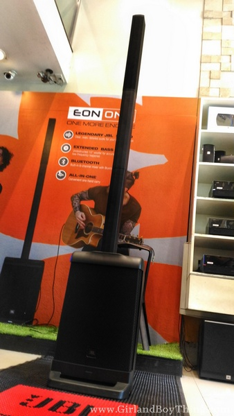JBL Eon One: An All-In-One Carry On Professional Audio System
