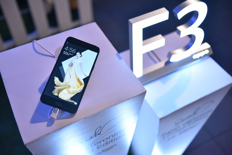 Sarah Geronimo Limited Edition F3 smartphone Now Available!