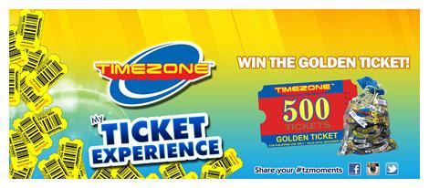 Timezone Golden Ticket