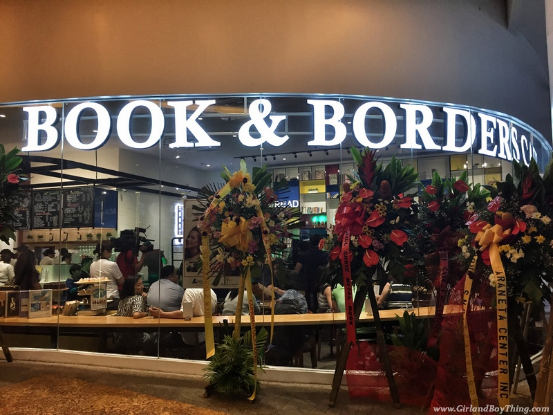 BOOK & BORDERS CAFE MANHATTAN PARKVIEW IS NOW OPEN!