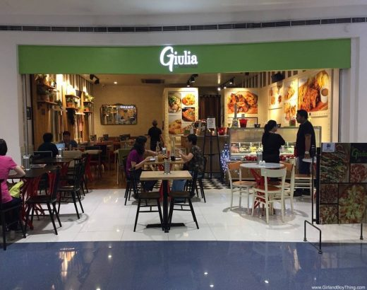 Giulia by Casa Italia serves Italian and home-cooked dishes