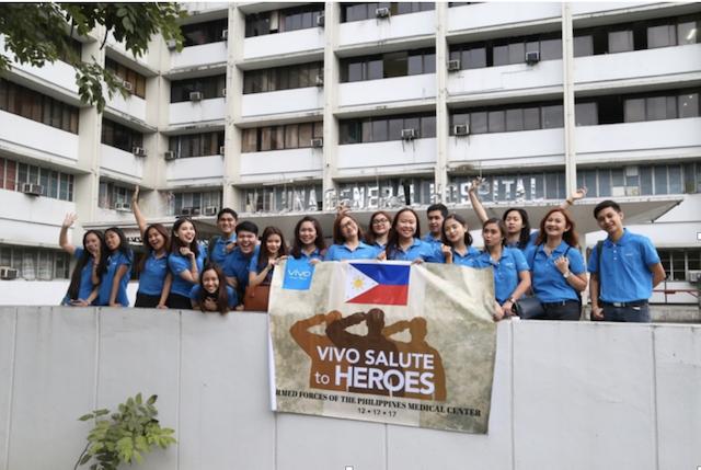 Vivo gives back to Marawi soldiers through an outreach affair