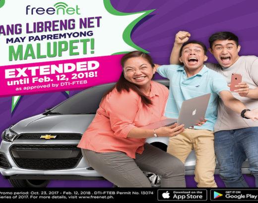 Freenet's Papremyong Malupet Promo is EXTENDED!