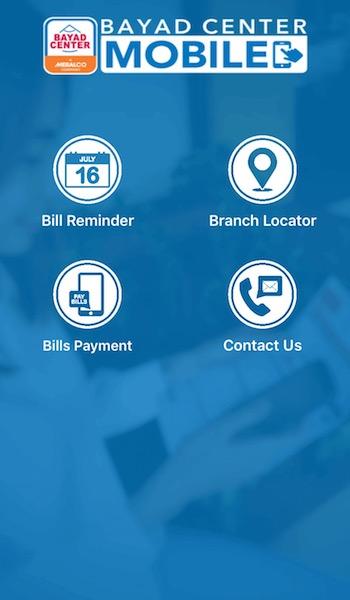 Bayad Center Mobile App