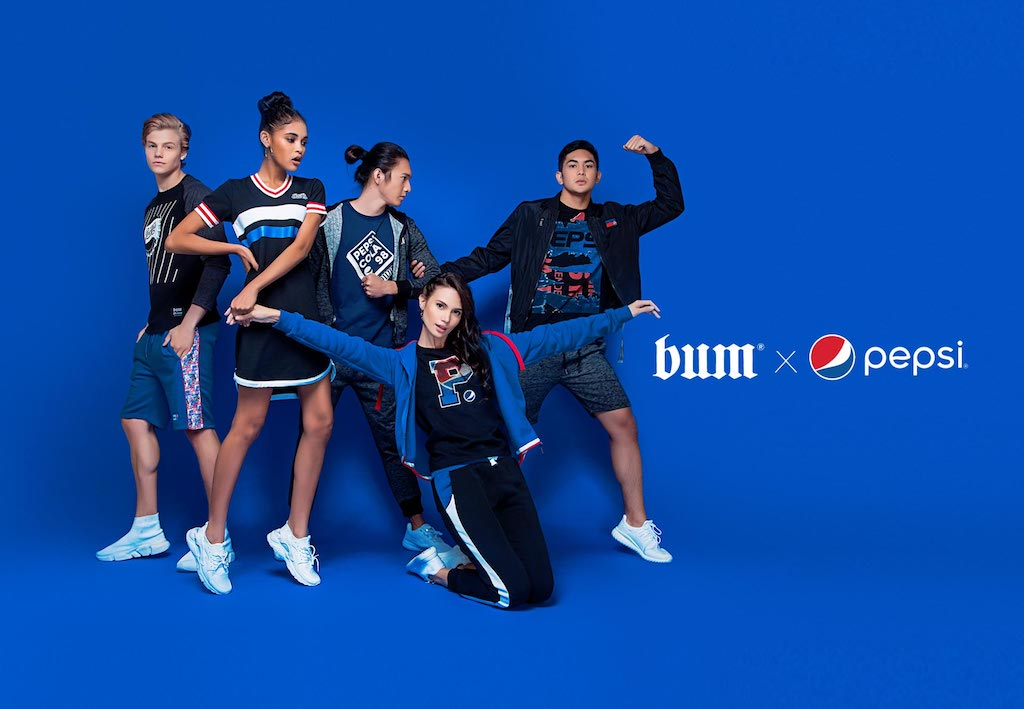 Get yours now! The Limited Edition BUM x Pepsi Collaborative Collection