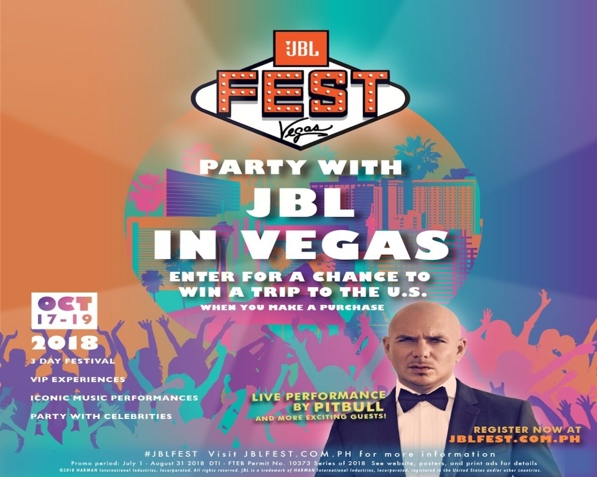 Win, Celebrate and Party at the JBL Fest 2018 in Las Vegas, USA!