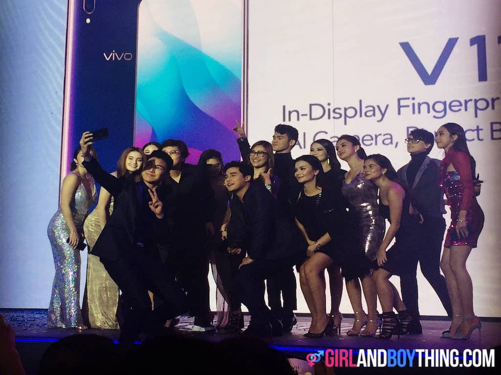 Philippines' Young stars shine at the Vivo V11 Launch