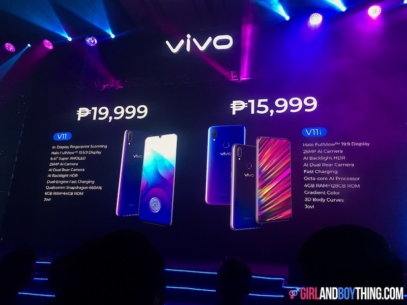 Vivo PH Unveils Two New Smartphones: Vivo V11 and V11i