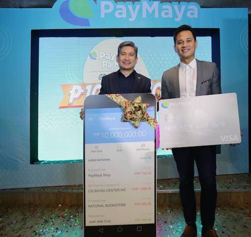 Win a whopping 10 Million Pesos in PayMayaPa More! Raffle Promo