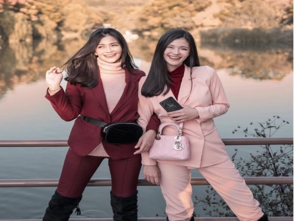 Pink Lovers: Sister-bloggers Vern and Verniece Enciso
