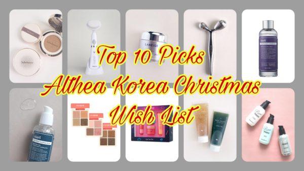 Top 10 Picks for Althea Korea Christmas WISH LIST
