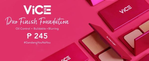 Vice Cosmetics Duo Finish Foundation: #GandangYounaYou For Just P245