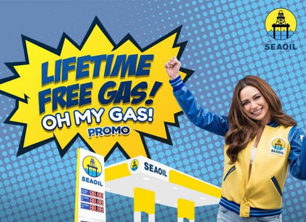 Gas Up at SEAOIL And Win a LIFETIME of Free Gas!