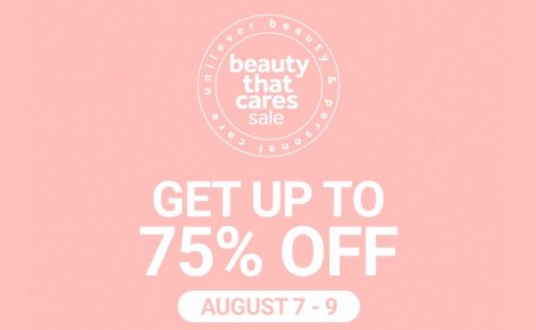 Shop for a Cause: Unilever and Shopee's Beauty That Cares Sale