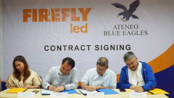 Firefly LED Seals Partnership With The Ateneo Blue Eagles