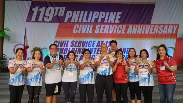 Watsons Joins Civil Service Commission NCR in R.A.C.E. To SERVE Fun Run