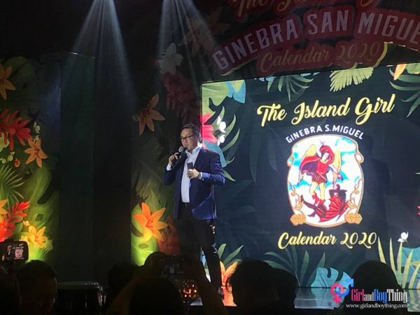 Ginebra San Miguel Reveals Sanya Lopez As The 2020 Calendar Girl