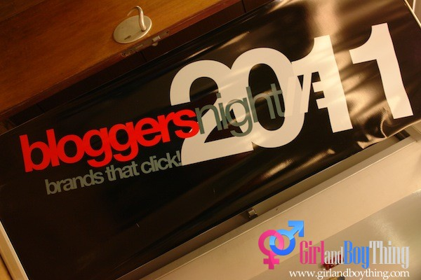 Brands that Click Blogger's Night