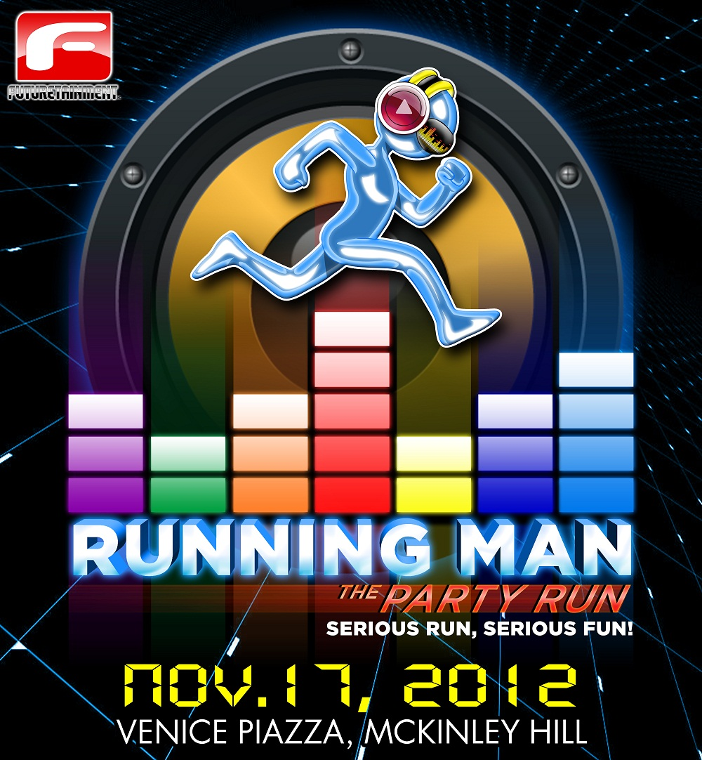 Join the Running Man: Serious Run, Serious Fun this November