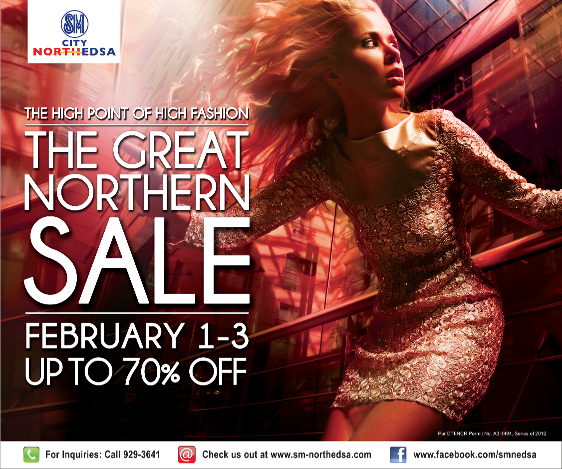 It's Back!!!... GREAT NORTHERN SALE @ SM NORTH EDSA