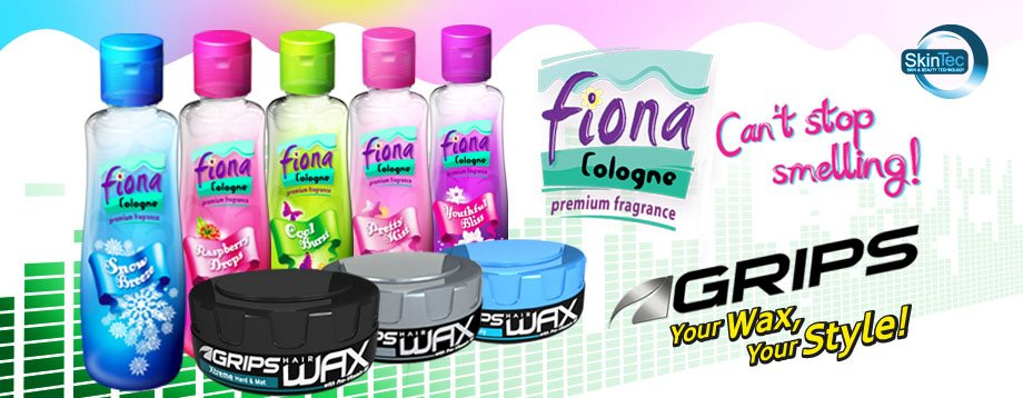 Style up your Fashion with Skintec's Fiona Cologne and Grips Hair Wax