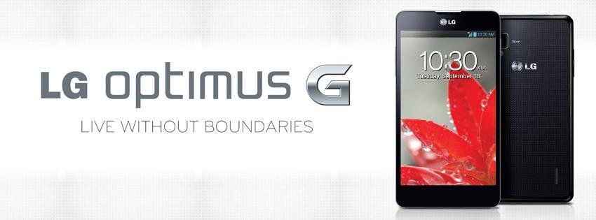LG Unveils LG Optimus G in Philippine Market