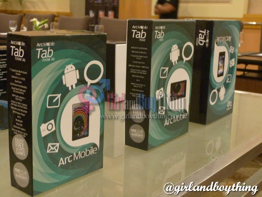 Discover a New Line of Mobile Phones & Tablets: Arc Mobile