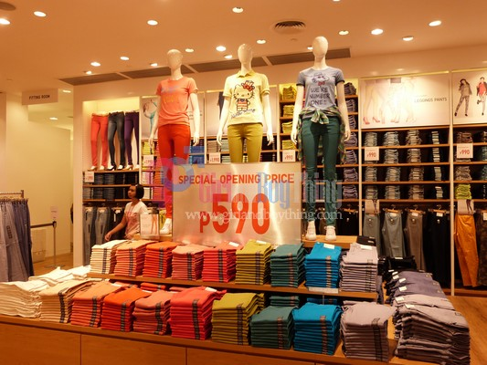UNIQLO Opens Its 5th Store In The Philippines At SM City Fairview