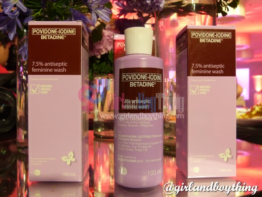No More Shy Days And Stand Up for Better Days with Betadine Feminine Wash