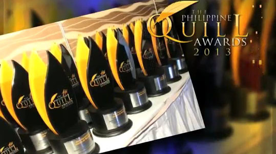 Go For Excellence And Win A Quill!: The Philippine Quill Awards 2013