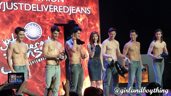 """SM Men's Fashion """"Just Delivered Jeans"""" Fashion Show At The Skydome"""