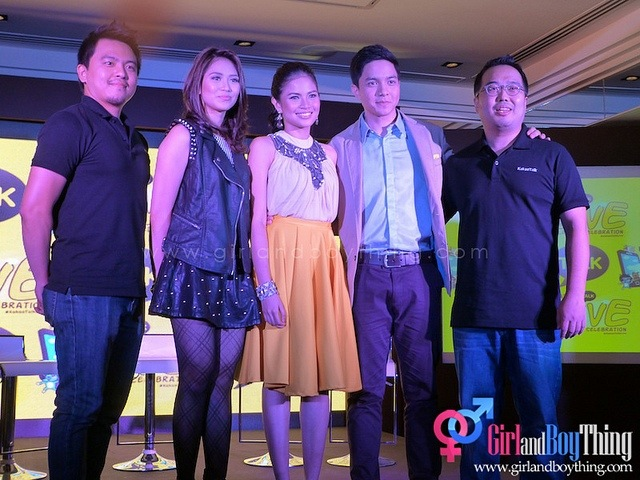 Louise delos Reyes and Alden Richards As The Newest Addition to KakaoTalk Brand Ambassadors