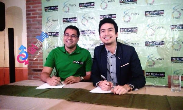Christian Bautista Renews Ties With Ink-All-You-Can For The Third Time