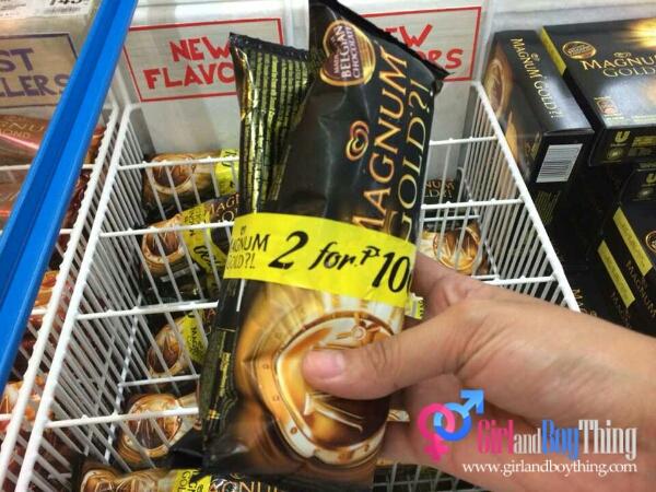 SM Supermarket Gives Out The Golden Offer: Magnum Gold 2 For 100 Promo