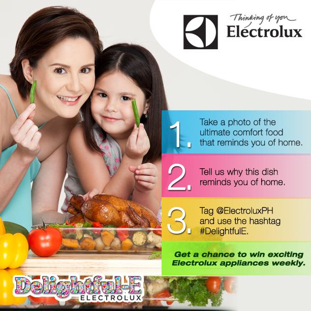 Win Appliances Weekly With Electrolux #DelightfulE Instagram & Twitter Contest