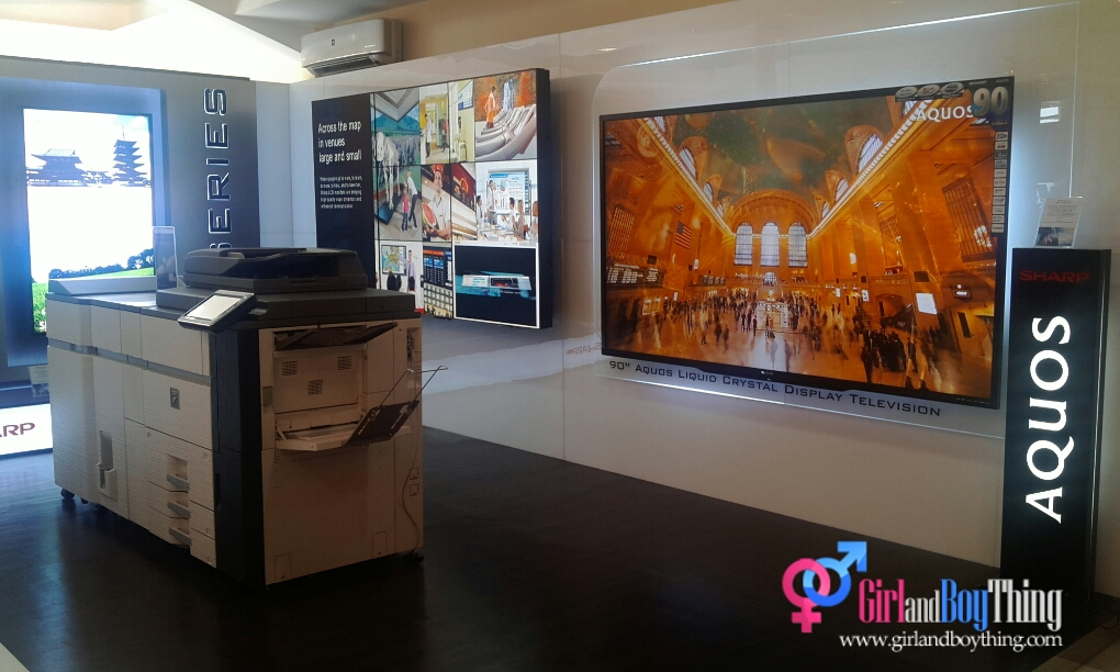 """Sharp Launches a """"Showroom"""" of Innovative Solution for Buisness and Education"""