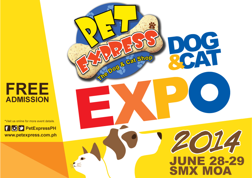 Come and Join The Fun At Pet Express Dog & Cat Expo 2014