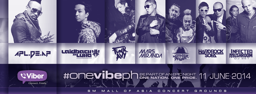 Let's Party And Celebrate Our Freedom At #OneVibePH