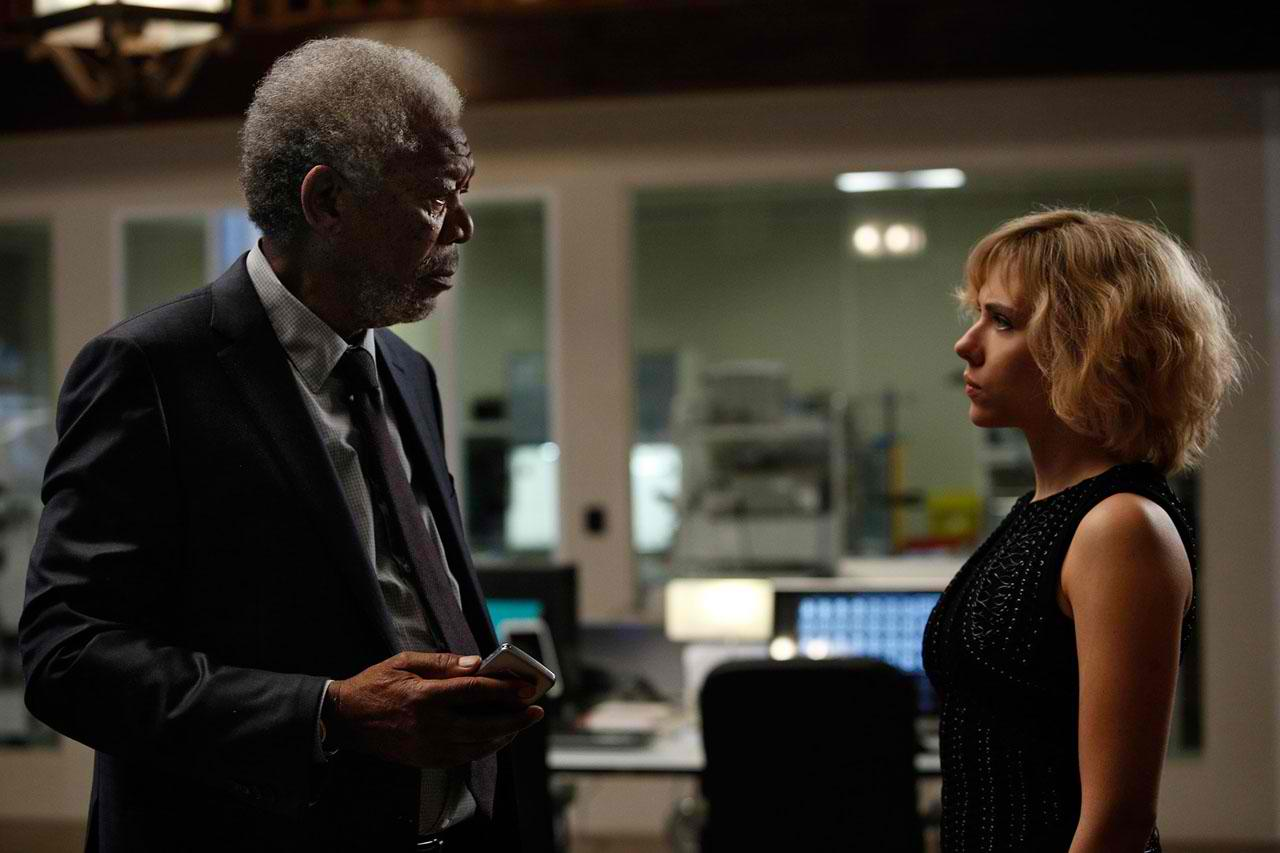 Another Morgan Freeman Movie: LUCY