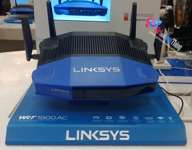 Linksys Introduces WRT1900AC Dual Band Gigabit Wi-Fi Router