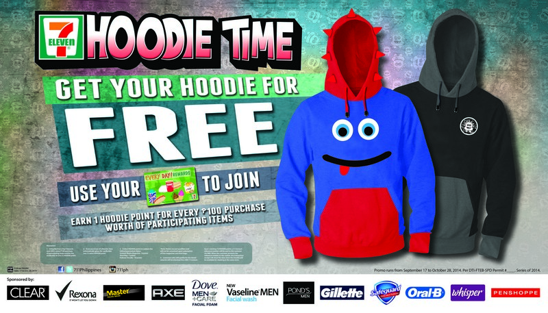 Collect HOODIE POINTS And Get A Cool LIMITED EDITION HOODIE For FREE From 7-Eleven