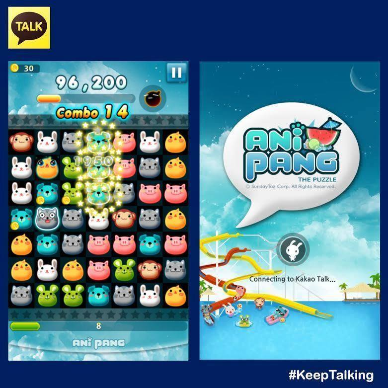 Let's Play! KakaoTalk's ANiPang The Puzzle Game