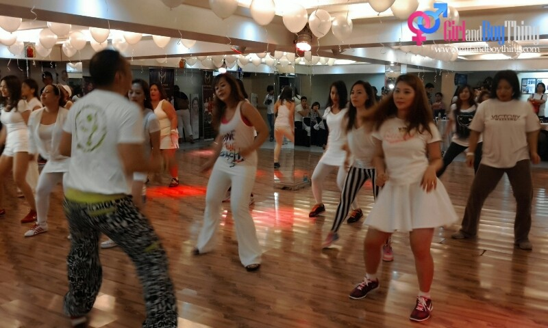 GlutaMAX And Posh Nails Celebrates Partnership In An All-White Zumba Party
